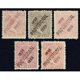1898 ED. Puerto Rico 169/173 *
