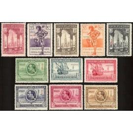 1929 ED. Guinea 191/201 *