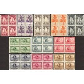 1929 ED. Guinea 191/201 ** [x4]