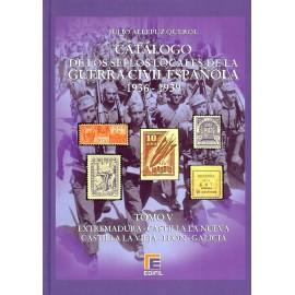 CATÁLOGO ESPECIALIZADO DE LOS SELLOS LOCALES DE LA GUERRA CIVIL ESPAÑOLA 1936-1939 TOMO V - Varios I