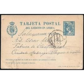 1921 ED. 2B us Tarjetas Militares