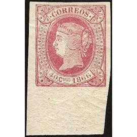 1866 ED. Cuba 16 *