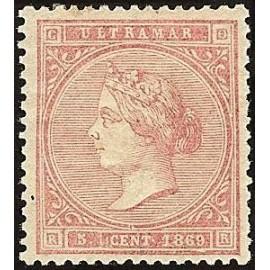 1869 ED. Cuba 23 * (2)