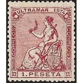 1874 ED. Cuba 30 * (2)
