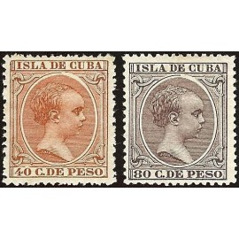 1896 ED. Cuba 152/153 *