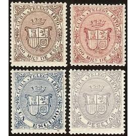 1870 ED. Cuba Telégrafos 07/10 *