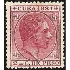 1881 ED. Cuba 63 *