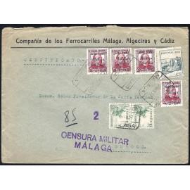 1937 ED. ELP Málaga 17 [x4] us