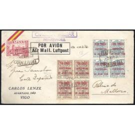 1936 ED. ELP Pontevedra 06A [x4], 07B [x4] us