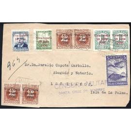 1937 ED. ELP Santa Cruz de Tenerife 36 [x2], 39 [x4], 41, 43 us