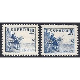 1937 ED. 830/831 **