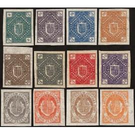 1875 ED. Andorra NE 1s/12s *