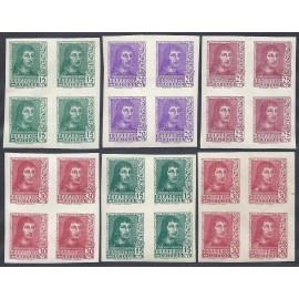 1938 ED. 841s/844s, 841As, 844As ** [x4]