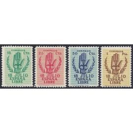1938 ED. 851/854 ** (2)