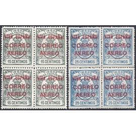 1936 ED. ELP Burgos 54/55 ** [x4]