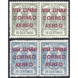 1936 ED. ELP Burgos 54+54he/55+55he *