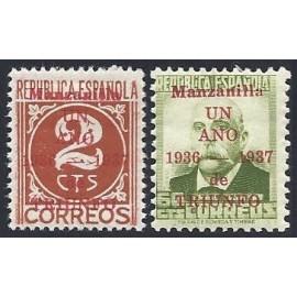 1937 ED. ELP Manzanilla 3hc, 9hc *