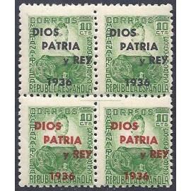1937 ED. ELP San Sebastián 27 + 27hcc ** [x4]