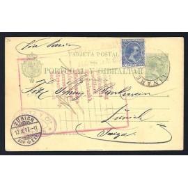 1893 ED. 34A us Tarjetas Entero Postales