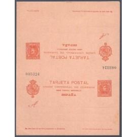 1901 ED. Tarjetas Entero Postales 41 **