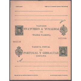 1903 ED. Tarjetas Entero Postales 44 **