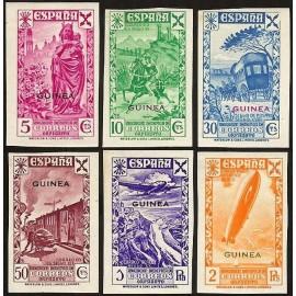 1938 ED. Guinea Beneficencia 1s/6s *