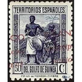 1937 ED. Guinea Locales 13hdh **