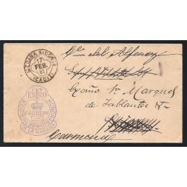 1881 ED. Franquicias Postales 3