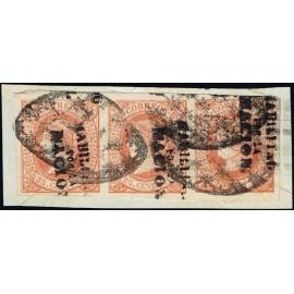 1869 ED. Filipinas 20P us [x3]