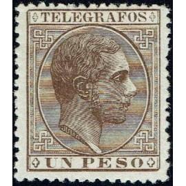 1880 ED. Filipinas Telégrafos 5 * (2)