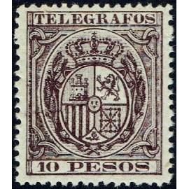 1890 ED. Filipinas Telégrafos 36 * (2)