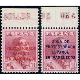 1923 ED. Marruecos NE 7/8 **