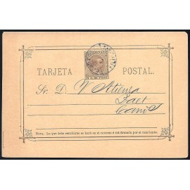 1896 ED. 11A us Enteros Postales Filipinas
