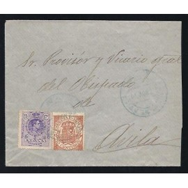 1908 Fiscales Postales ED. 26
