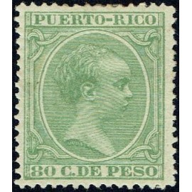 1890 ED. Puerto Rico 85 *