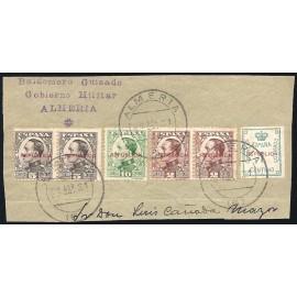 1931 ED. ELR Almería 1, 2 [x2], 3 [x2], 4 us
