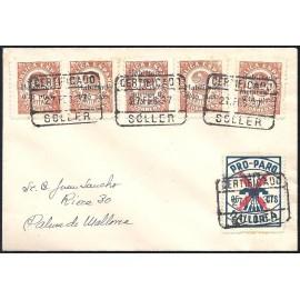 1937 ED. ELP Baleares 2 [x2], 4 [x3] us