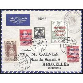 1936 ED. ELP Burgos 19Ahea, 76 [x2] us