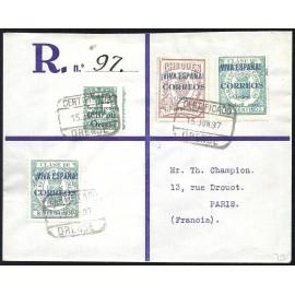1937 ED. ELP Burgos 26, 35, 37 us