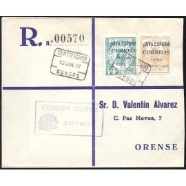 1937 ED. ELP Burgos 32, 42 us