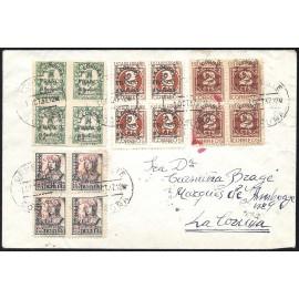 1937 ED. ELP La Coruña 01/03 [x4], 06 [x4] us