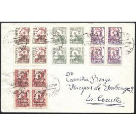 1937 ED. ELP La Coruña 04/05 [x4], 07/08 [x4] us