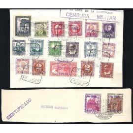 1936 ED. ELP La Línea de la Concepción 01/08, 11/15, NE1/2, NE4, NE7A us