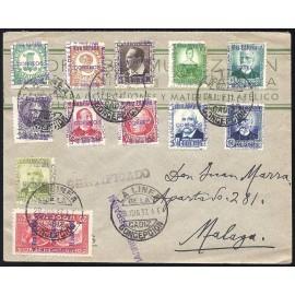 1936 ED. ELP La Línea de la Concepción 01/11, 15 us