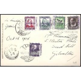 1936 ED. ELP La Línea de la Concepción 03/04, 06/07, NE4 us