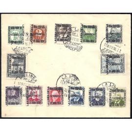 1936 ED. ELP La Línea de la Concepción 16, 18/19, 21/22, 24/27, NE12, NE14, NE19, NE22 us