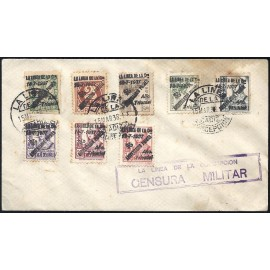 1937 ED. ELP La Línea de la Concepción 36/37, 38hi/39hi, 40/43 us (2)