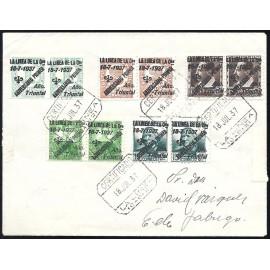 1937 ED. ELP La Línea de la Concepción 45/49 [x2] us
