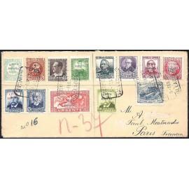 1936 ED. ELP Orense 01, 04/06, 08/11, 13/15, 17 us (2)