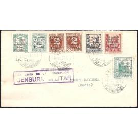 1937 ED. ELP La Línea de la Concepción 31/32, 33hphi, 34/35 us